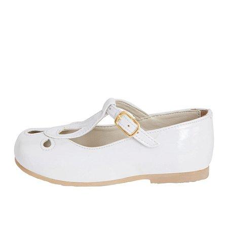Sapato Asapatilha Mary Jane White