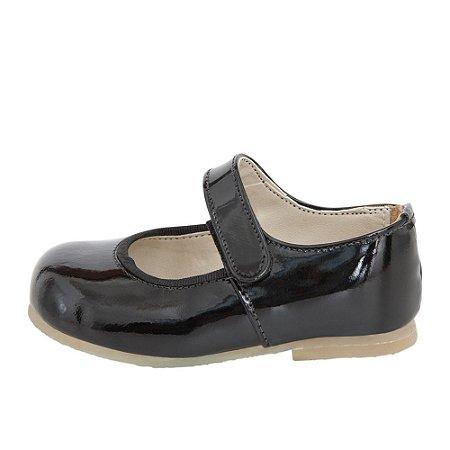 Sapato Asapatilha Mary Jane Preta