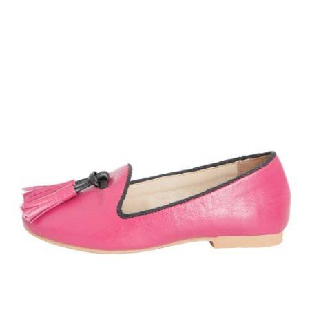 Loafer Ananás Mini Brogue Pink