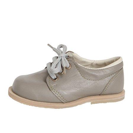 Sapato Asapatilha Brogue John Cinza