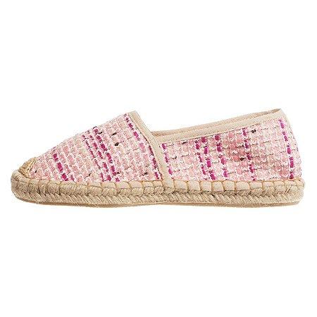 Alpargata ASapatilha Tweed Pink