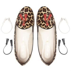 Brogue Asapatilha Morgana Leopard