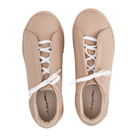 Sneaker Asapatilha s/ costura Nude