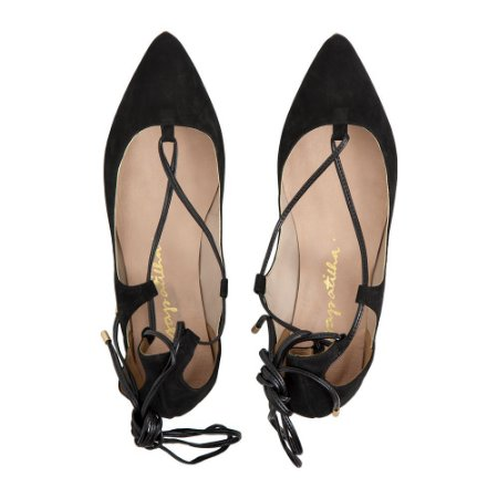 Sapatilha Asapatilha Astomélia Lace up Suede Preto