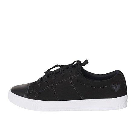 Sneaker Asapatilha Lis Preto