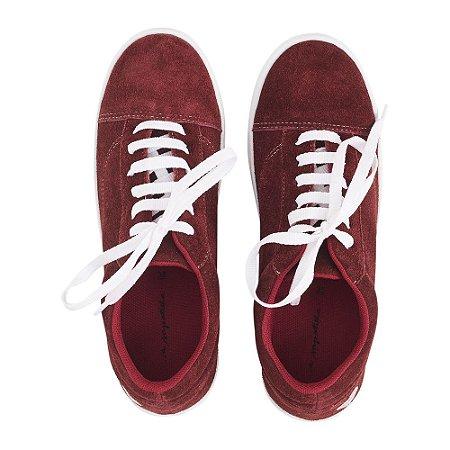 Sneaker Asapatilha Love Burgundy