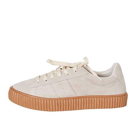 Sneaker Asapatilha sola Caramelo Off-white