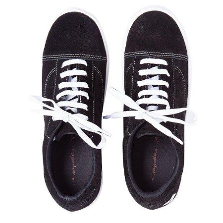 Sneaker Asapatilha Love Preto