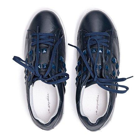 Sneaker Asapatilha Spike Marinho