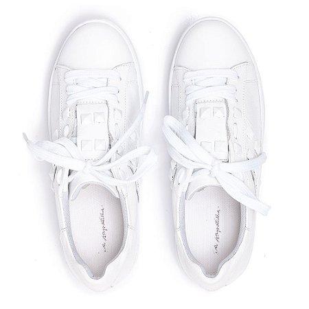 Sneaker Asapatilha Spike Branco