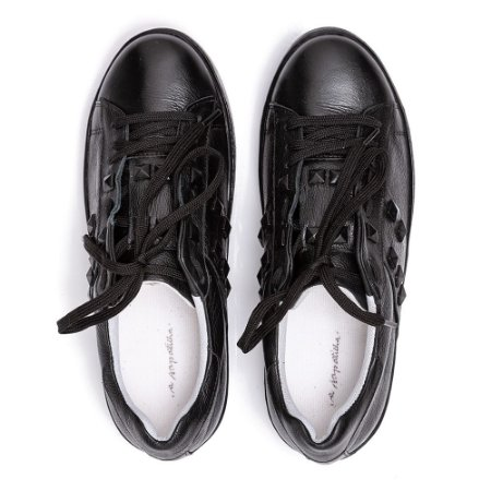 Sneaker Asapatilha Spike Preto