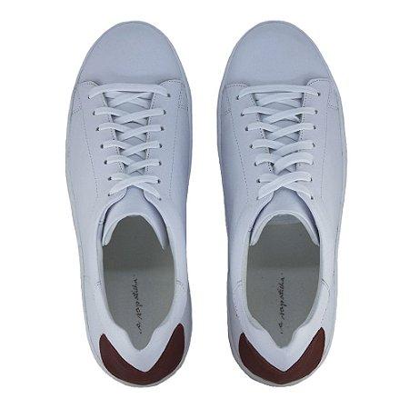 Sneaker Asapatilha Branco Red Heart