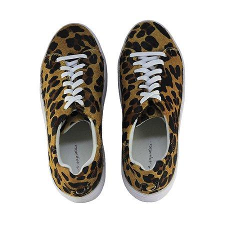 Sneaker Asapatilha High Leopard