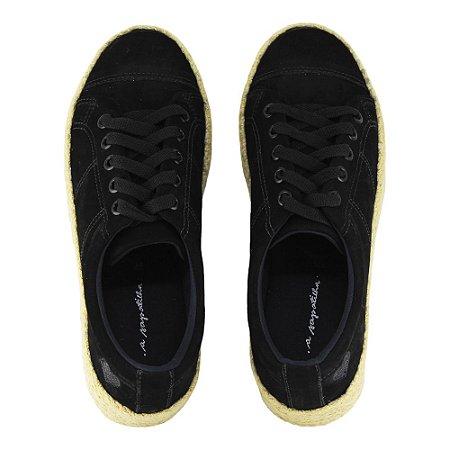 Sneaker Asapatilha Rope Preto