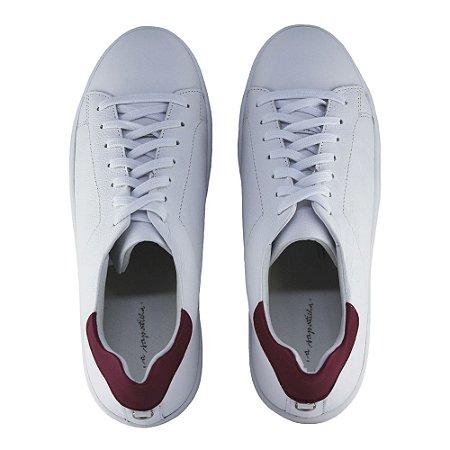 Sneaker Asapatilha White Detail Pink