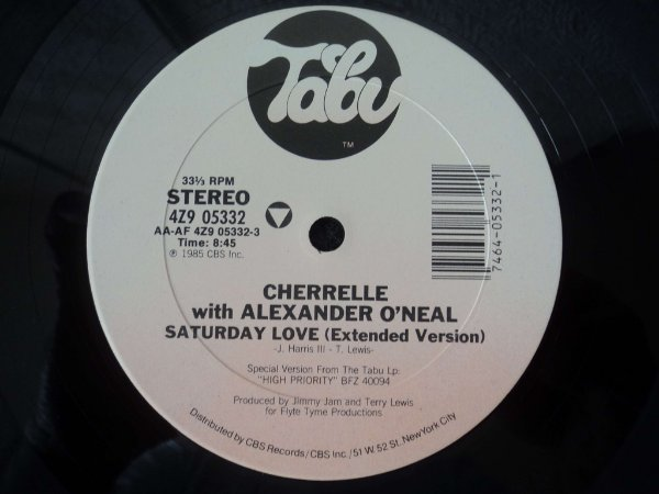 CHERRELLE & ALEXANDER O'NEAL - SATURDAY LOVE