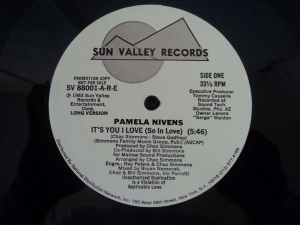 PAMELA NIVENS - IT´S YOU I LOVE