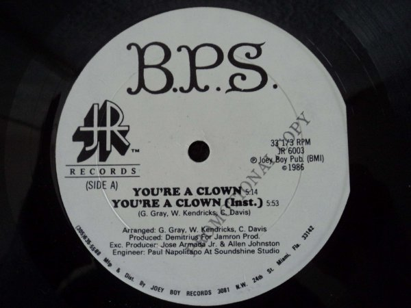 BPS  - YOU´RE A CLOWN
