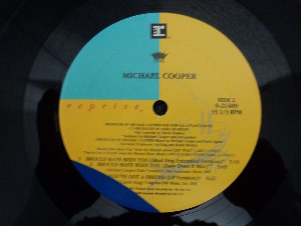 MICHAEL COOPER -SHOULD HAVE BEEN YOU