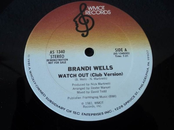 BRANDI WELLS - WATCH OUT