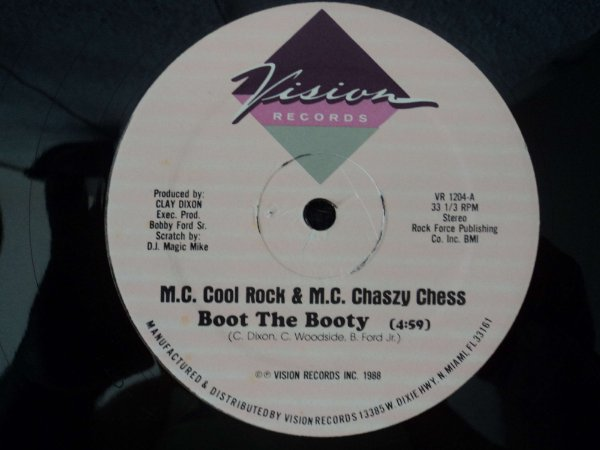 MC COOL ROCK & MC CHASZY CHESS - BOOT THE BOOTY