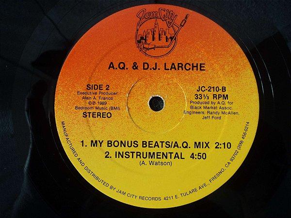 AQ & DJ LARCHE - AND MY BEAT GOES ON