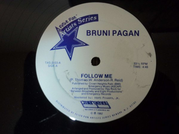 BRUNI PAGAN - FOLLOW ME