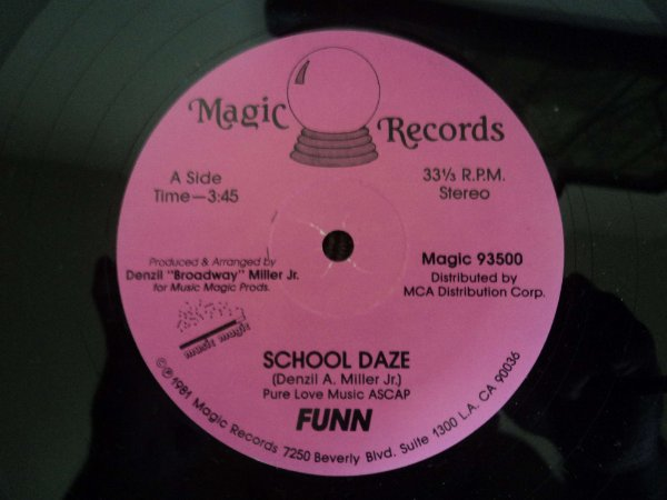SCHOOL DAZE - FUNN