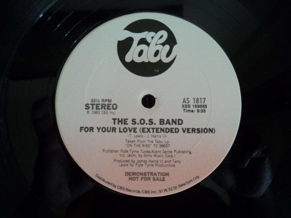 SOS BAND - FOR YOUR LOVE