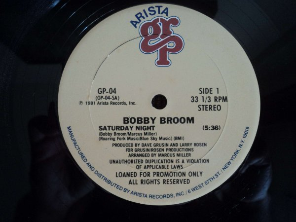 BOBBY  BROOM - SATURDAY NIGHT