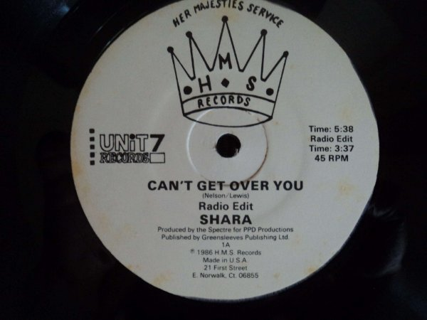 SHARA  - CAN´T GET OVER YOU PROMO