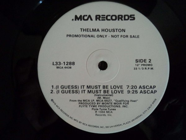 THELMA HOUSTON - (I GUEES) IT MUST BE LOVE