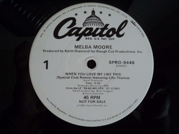 MELBA MOORE - WHEN YOU LOVE ME LIKE THIS REMIX
