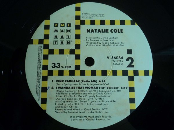 NATALIE COLE - I WANNA BE THAT WOMAN