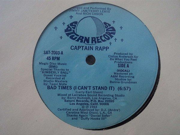 CAPTAIN RAPP - BAD TIMES LACRADO