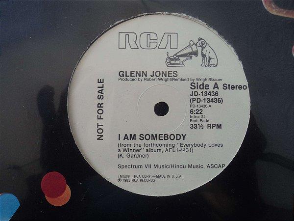 GLENN JONES - I AM SOMEBODY
