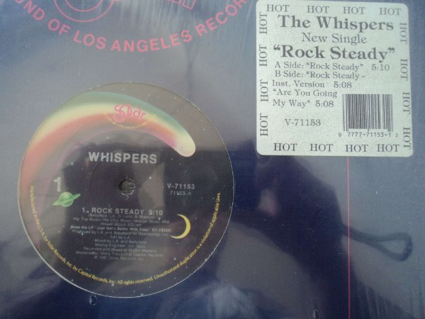 WHISPERS - ROCK STEADY