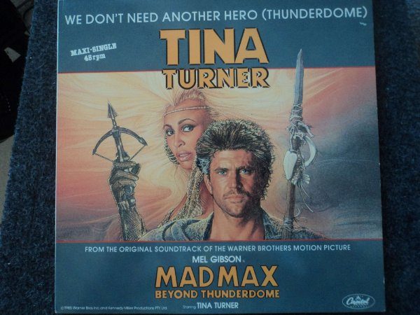 TINA TURNER - WE DON'T NEED ANOTHER HERO ( MIX )