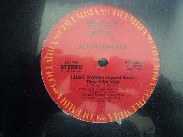 ALTON EDWARDS - I JUST WANNA