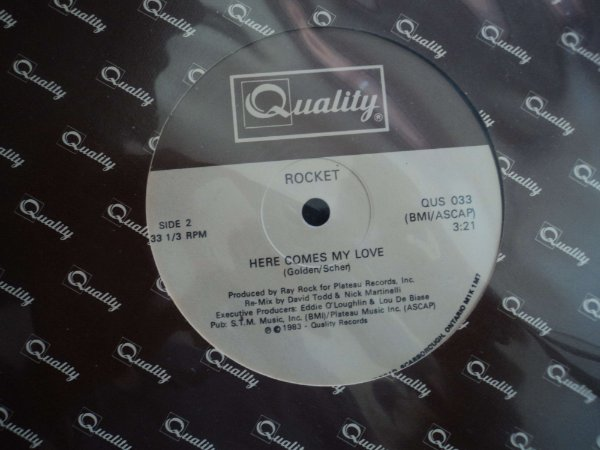 ROCKET - HERE COMES MY LOVE