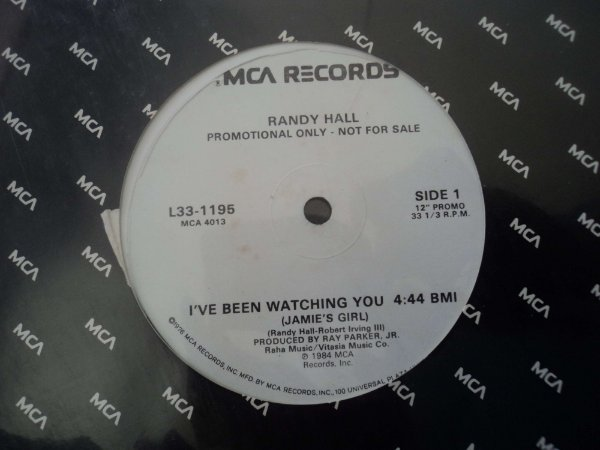 RANDY HALL - I'VE BEEN WATCHING YOU