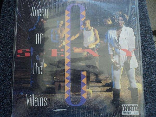 SEXY C - QUENN OF THE VILLAINS LP(INCLUINDO GO ON GIRL)