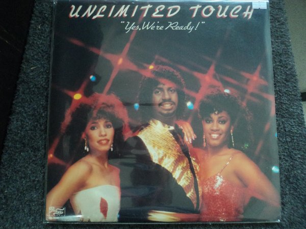 UNLIMITED TOUCH - YES,WE'RE READY LP