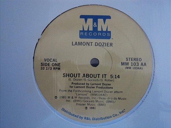 LAMONT DOZIER - SHOUT ABOUT IT