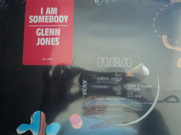 GLENN JONES - I AM SOMEBODY