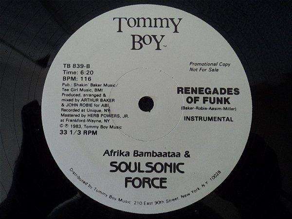AFRIKA BAMBAATAA & SOUL SONIC FORCE - RENEGATES OF FUNK