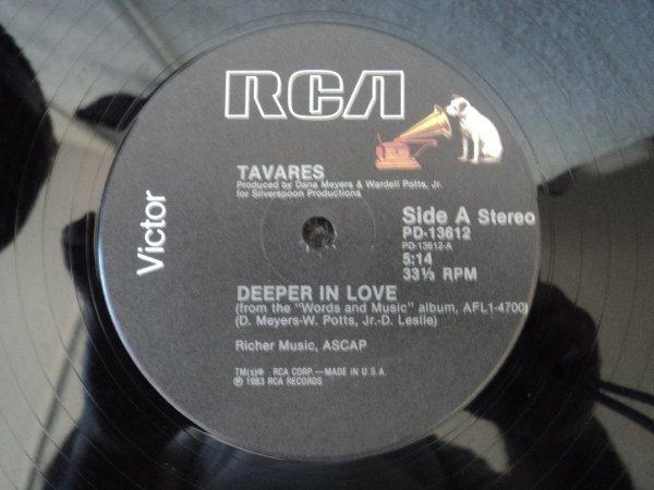 TAVARES - DEEPER IN LOVE/I REALLY MISS YOU BABY