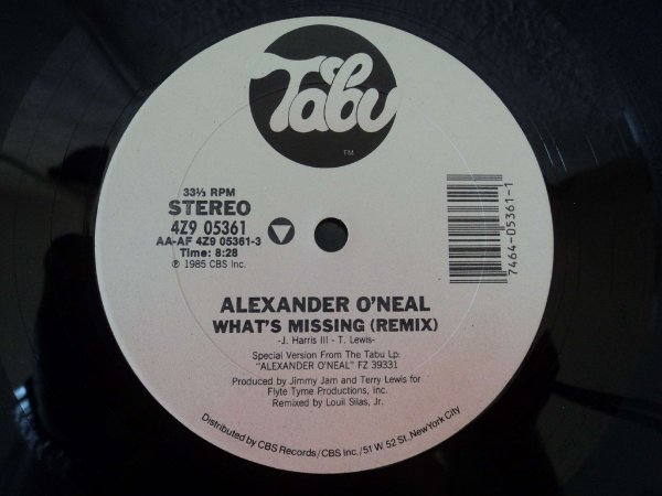 ALEXANDER O'NEAL - WHAT'S MISSING