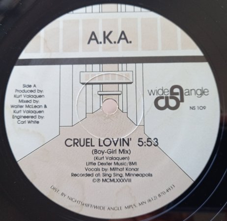 A.K.A. - CRUEL LOVIN