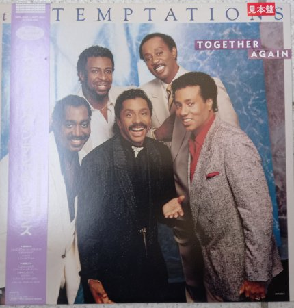 TEMPTATIONS - TOGETHER AGAIN - JAPONÊS
